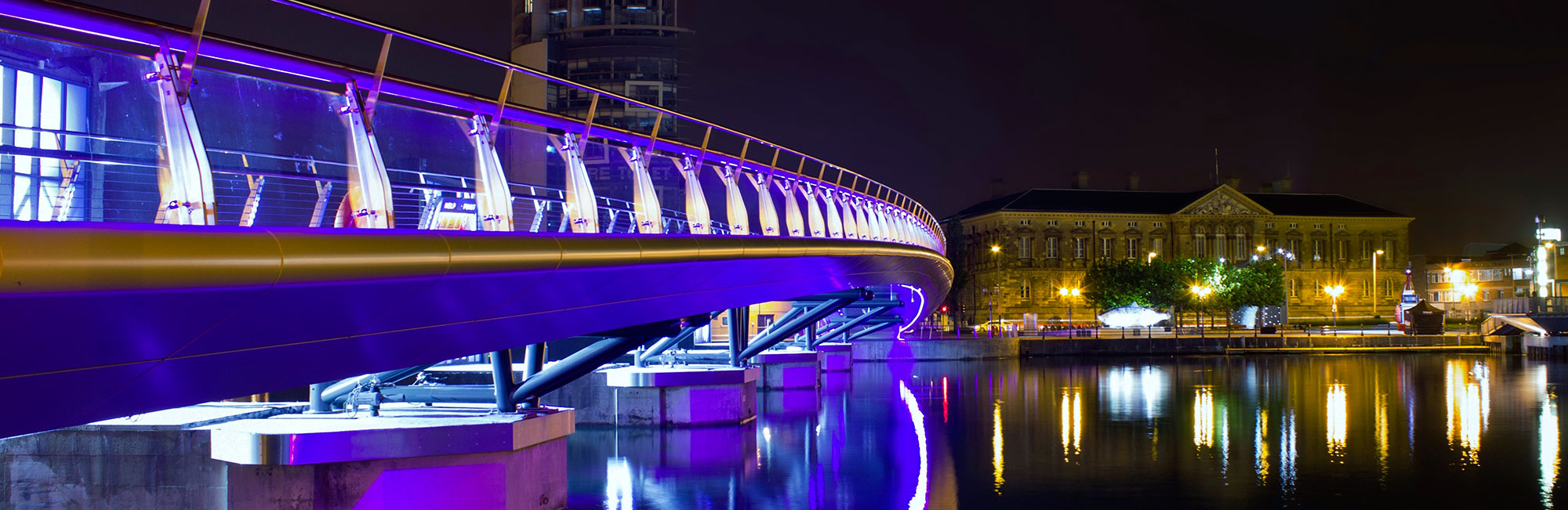 Lagan Foot Bridge, Belfast